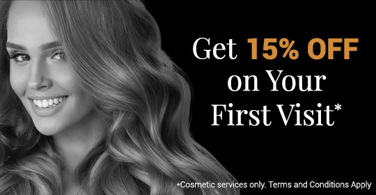 Get 15% Off Your First Visit